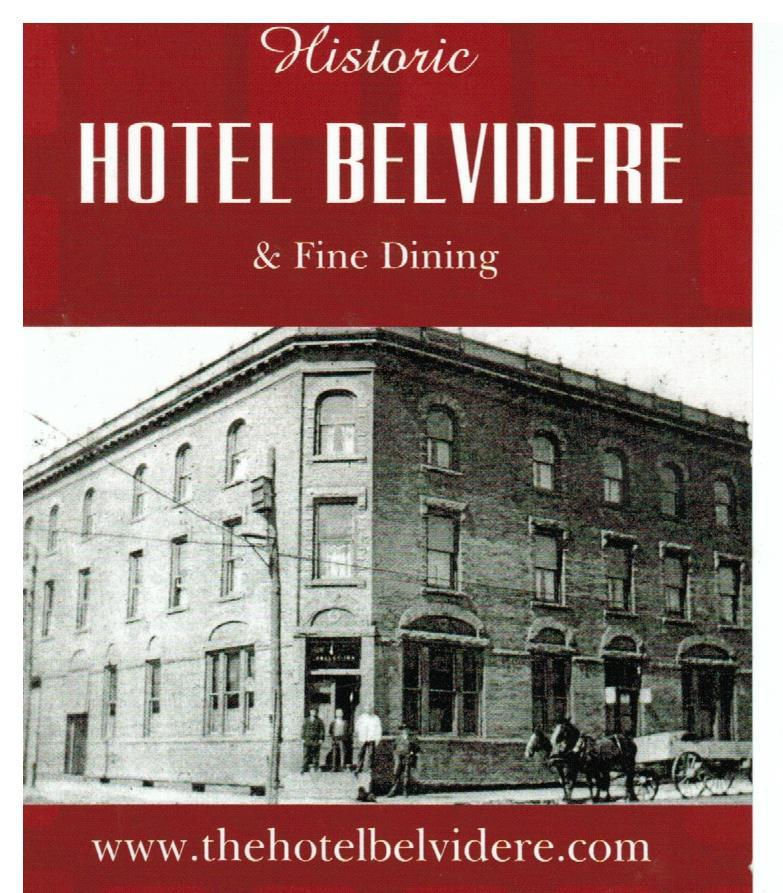 Hotel Belvidere 330 Main Ave Hawley Phone 570 226 2600